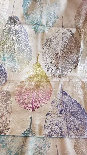 Sprügel - Tischläufer - Mariola Leaves - 40 x 180cm - 100% Baumwolle