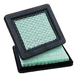 HOODELL 2 Pack 17211-zl8-023 Air Filter, Compatible for Honda gcv160 gcv190, Husqvarna 7021p, Premium Lawn Mower Air Cleaner Element