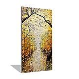 Desconocido Generic Paisaje árbol espátula Lienzo Pintura Abstracta salón Comedor Pared Arte 100% Pinturas al óleo pintadas a Mano