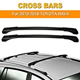 AUXMART Roof Rack Cross Bars Replacement for 2013–2018 Toyota RAV4 Aluminum Rooftop Luggage Rack...