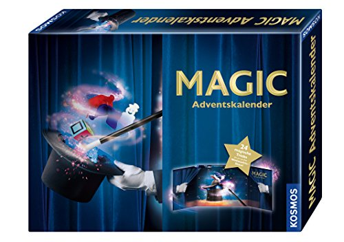 Kosmos Zauberei 698850 Magic Adventskalender 2018, bunt