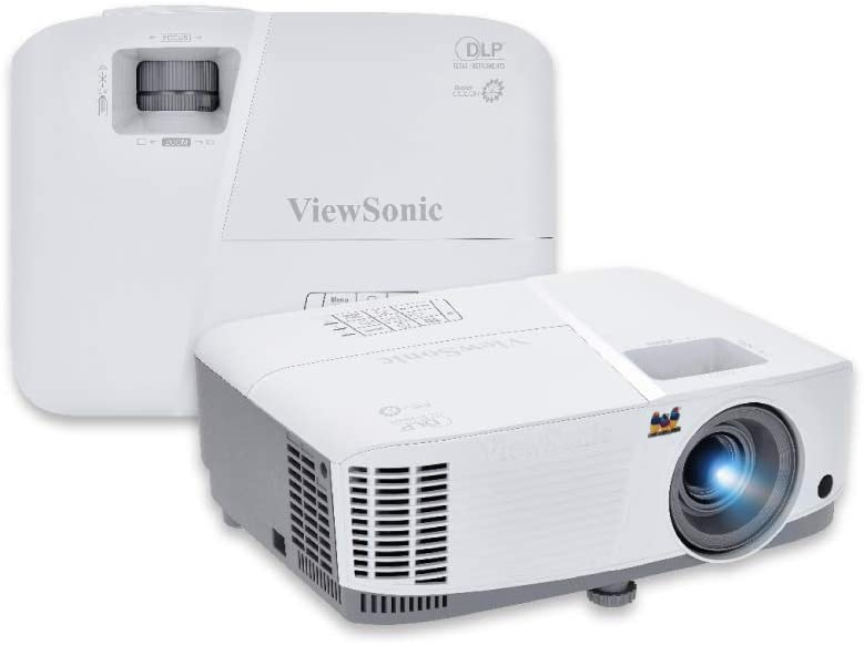 ViewSonic PG603W 3600 Lumens WXGA Networkable Home and Office Projector with HDMI and USB, White