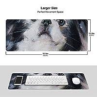 ペキニーズ マウスパッド キーボードパッド 滑らかマウスパッド ゲーミングパッド 大型 オフィス 家庭用