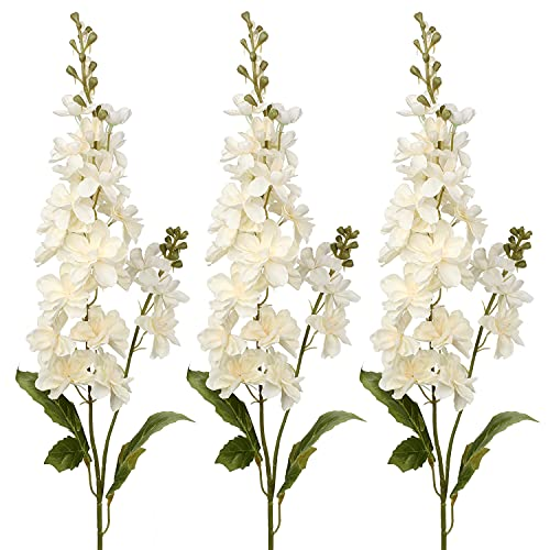 Weißer Rittersporn, künstliche Blumen,...