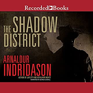The Shadow District audiobook cover art