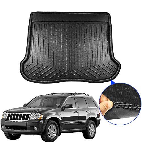 , Voor, Voor Jeep Grand Cherokee Auto Staart Kofferbak Mat Voering Koffer Vloer Lade Kick Tapijt Cargo Modder Pad 2008 2009 2010 2011 2012