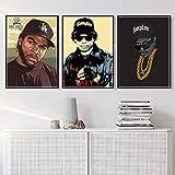 nr Hip Hop Musik Rapper Star Ice Cube Eazy-E Leinwand