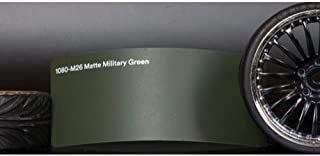 3M 1080 Matte Military Green | M26 | Vinyl CAR WRAP Film (Sample 2.5in x 4in)
