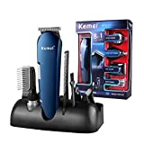 OPENROAD Lithium Ion+ Beard and Nose Trimmer for Men, Hair Clippers, Detail Shaver, Rechargeable, All in One Men's Grooming Kit