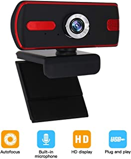 Webcam with Microphone, Full 1080P HD - Web Cam USB Computer Camera for PC Laptop Desktop Widescreen Video Calling,Conferencing