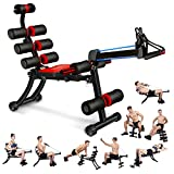 MBB 22 in 1 Wonder Master Core & Abdominal Workout Chair,Foldable & Adjustable Rowing Machine,22 Ways to Exercise,Fitness Equipment for Home Gym Sports