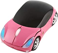 CHUYI Ultra Small Cool Sports 3D Car Shaped Wireless Optical Mouse Mini Cordless Portable..