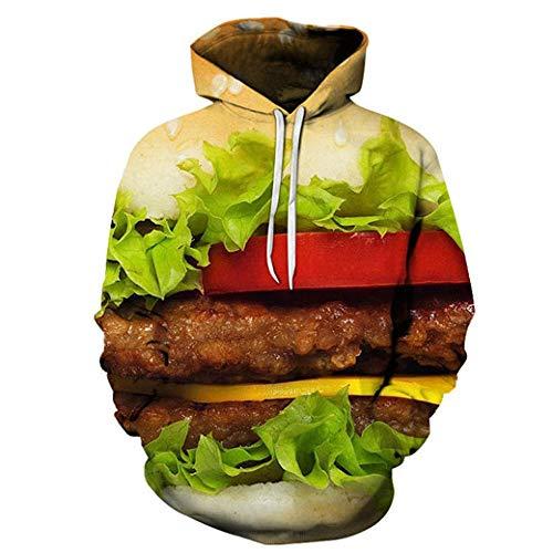 Herbst Neue Trend 3D Kreativität Druck männer Sweatshirt Milch Mutter Nutella Selbst Mit Kapuze Pullover Sweatware Straße Amüsant Hoodie-AW188_L