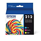 EPSON T212 Claria Ink Standard Capacity Color Combo Pack (T212520-S) for Select Epson Expression and Workforce Printers