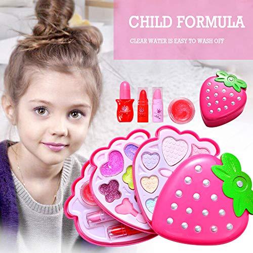 Make-Up-Sets Für Mädchen, Große Erste Echt Kinder Kinder Schminkset Mädchen Pretend Play Make Up...