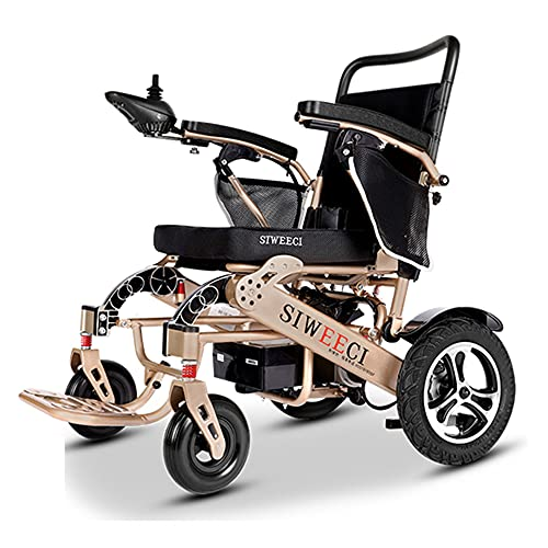 Electric Wheelchair, Lightweight, Foldable, Powerful Dual-Motor Compact Mobile Auxiliary Wheel seat for The Elderly/As Shown / 84×64×95cm