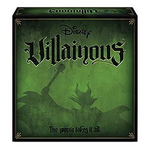 Ravensburger 26275 Disney Villainous, Versión Española, Juego de Mesa, 2-6 Jugadores, Edad Recomendada 10+