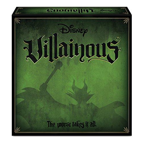 Ravensburger 26275 Disney Villainous, Versión Española, Juego de Mesa, 2-6 Jugadores, Edad...