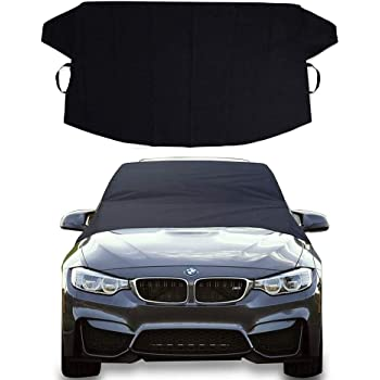Camco 45401 Vinyl Tow Car Windshield Protector Black