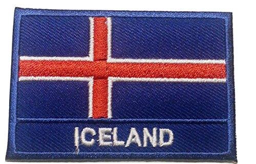 Ecusson Islandia parche Badge bandera Islandia