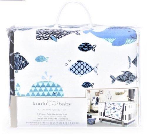 Koala Baby All Ashore Collection 3 Piece Crib Bedding Set