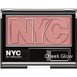 N.Y.C. New York Color Cheek Glow Blush , West Side Wine, 0.28 Ounce