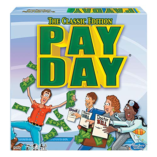 Winning Moves Games Pay Day, The Classic Edition, Multicolor
