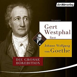 Gert Westphal liest Johann Wolfgang von Goethe Titelbild
