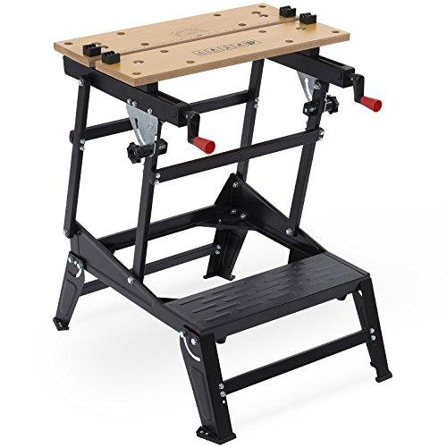 klappbarer Werktisch Werkbank Hobelbank Spanntisch Werkstatt Arbeitstisch