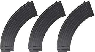 SportPro CYMA 800 Round Metal RPK High Capacity Magazine for AEG AK47 AK74 3 Pack Airsoft - Black