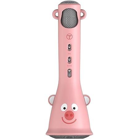 TOSING X3 Karaoke Microphone pour enfants Microphone sans fil Chant Machine meilleur cadeau pour les garçons et les filles d'anniversaire 2019-Kids Karaoke Machines (Rose)