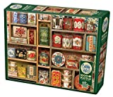 Cobble Hill 1000 Piece Puzzle - Vintage Tins - Sample Poster Included