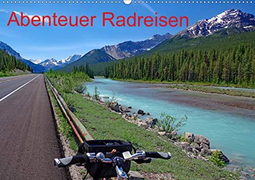 Abenteuer Radreisen (Wandkalender 2021 DIN A2 quer)