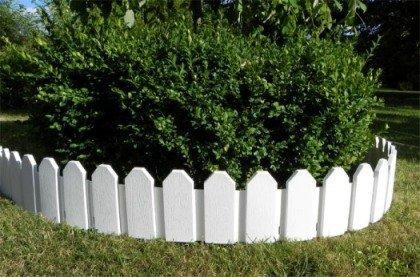 Inter Home Bordures pour Jardin Imitation Barriere - 230 cm - INTERHOME©