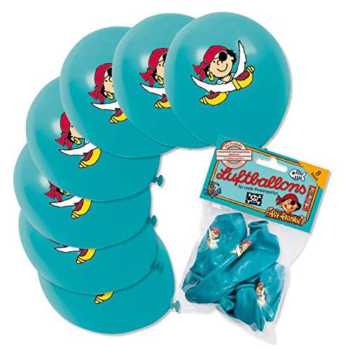 8 Luftballons * PIRAT PIT PLANKE * von Lutz Mauder // 66012 // Kinder Geburtstag Party Kindergeburtstag Kinderparty Piraten Piratenjunge
