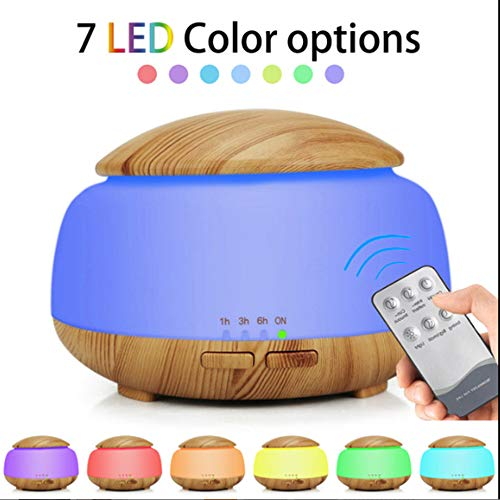 EMGOD Humidificador Aire luz Nocturna Colorida, atomización