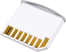Micro SD TF to SD Card Kit Mini Adaptor for Extra Storage Macbook Air / Pro / Retina White
