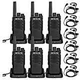 Retevis RT68 Walkie Talkies for Adults Long Range FRS Hands-Free Rechargeable Two Way