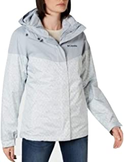 Columbia Thermal Coil Jacket Light Blue/Gray Size X-Large