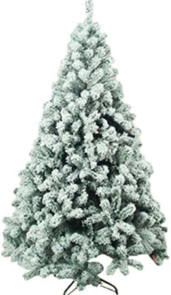National Tree Company Charlotte Max 90% OFF Mall Artificial Flocked Christmas Premium