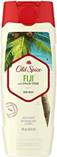 Old Spice Body Wash Fiji Scent 16 Oz (2 Pack)