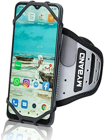 MyBand Rotatable Phone Armband Workout Phone Holder 360 Rotatable Armband Fits 4 6 5 Inch Smartphones product image
