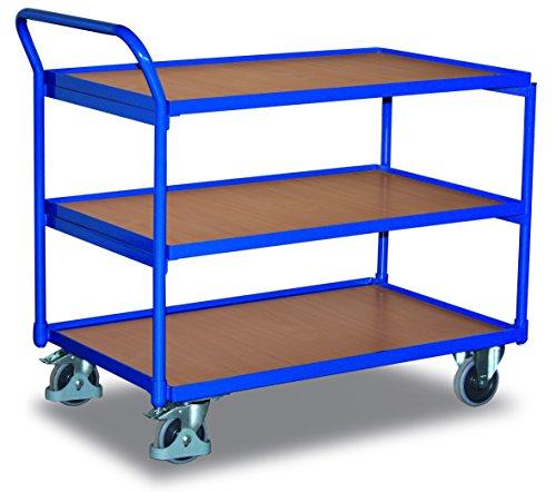 VARIOFIT Tischwagen Transportwagen, Eigengewicht: 48,5 kg, Ladefläche: 1000x600 mm