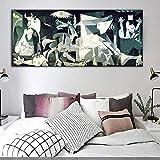 Juabc Abstraktes Poster Picasso guérnica Druck berühmter