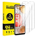 ivencase für Samsung Galaxy A42 5G Panzerglas [3 Stück],