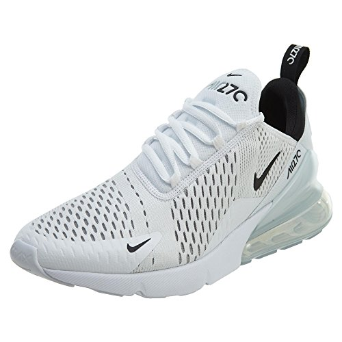 Nike Herren Air Max 270 Turnschuh, White Black White, 46 EU