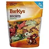 BARKYS Biscuits de 4 Sabores con Prebióticos 1.5 Kg, Variado, 1 Pouch