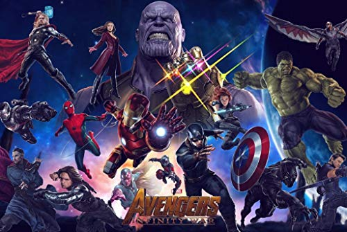 Puzzle House- Infinity Civil War, Basswood Jigsaw Puzzles, Avengers in Legno Movie Stills Poster, Fine Cut & Fit, 300/1000 Pezzi Giocattoli per Fotografia in Miniatura Gioco Art Painting per Adulti e