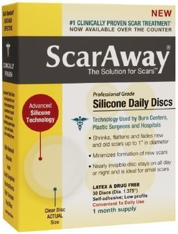 ScarAway Professional Grade Silicone Daily Discs 30 ea product image