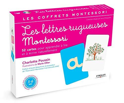 Les lettres rugueuses: Pour apprendre à lire et à écrire naturellement: 1 (Les coffrets Montessori)